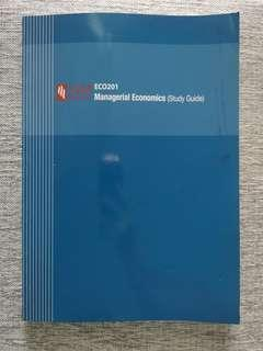 ECO201 Managerial Economics Study Guide (SIM)