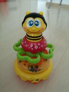 Roly Poly bumble bee