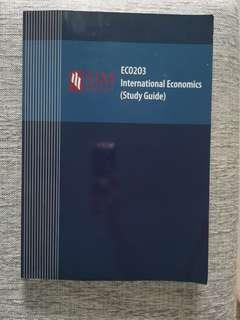 ECO203 International Economics Study Guide (SIM)