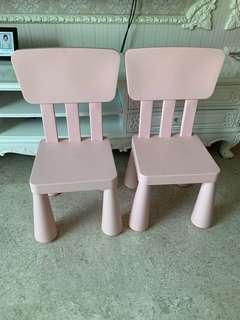 Toddler Chair x2