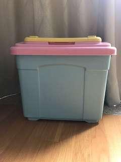 罕有頂揭式玩具收納箱