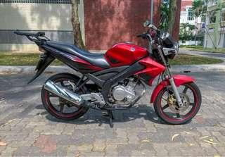 Yamaha FZ150i (Fuel Injection)!
