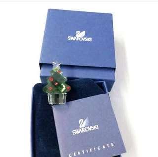 包順豐!Swarovski 水晶擺設 聖誕樹 crystal Christmas tree Xmas