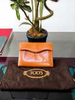 Tods leather wallet Authentic
