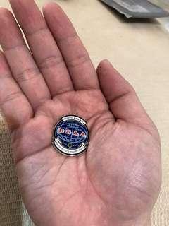生化危機 BSAA金屬徽章心口針