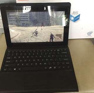 Teclast 二合一 2in1 10吋 Android windows tablet 平板電腦 視窗系統 2G + 64GB SSD  有盒好狀態 SIM card 上網版