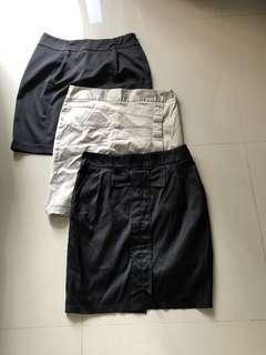 3 VIVI Plus Size Skirts for $15