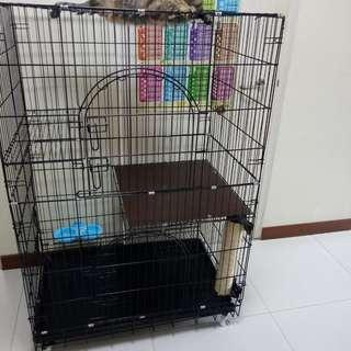 Cat cage to sell.