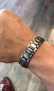 🚚 Men's Bracelet magnetic steel