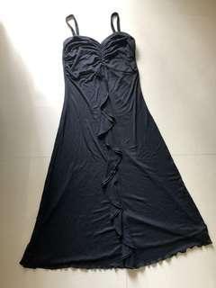 'Stefanie' Black Sexy Dress
