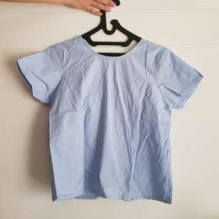 Baby Blue Top Pita