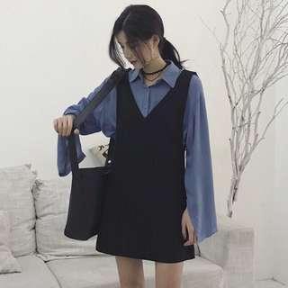 🚚 韓版吊帶裙