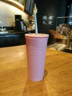 Starbucks Tumbler Cold Cup Spring 2019 Stainless Steel Pink Tall