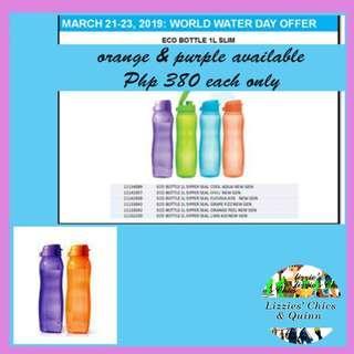 1 Liter Slim Eco Bottle