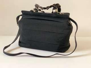Authentic Ferragamo Nylon 2 way Bag