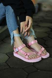 TURUNHARGA! hijack sandals kato full pink