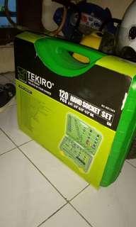 Konci tekiro set 120 kit baru