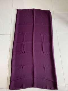 Ballet chiffon purple veil
