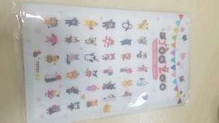 Joo zoo deco sticker pack