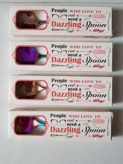 Dazzling spoons