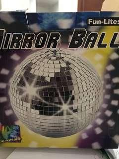 Mirror Ball with rotating motor