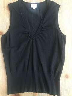 Cleo's Black Sweater Vest XL