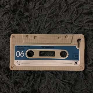 Iphone 5 silicon case cassette casing 5s