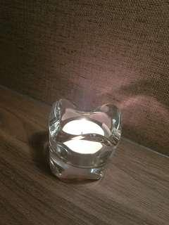 Candle Stand Glass