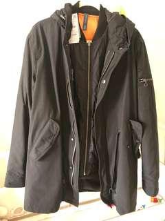 Zara Men 2 in 1 Jacket New