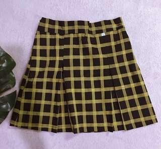 Korean Skirt | Checkered