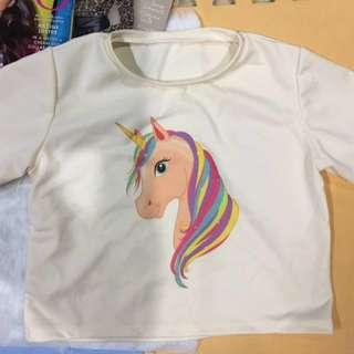 CROPTOP UNICORN