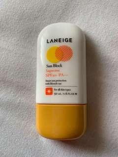 Laneige Sun Block Supreme SPF 50+