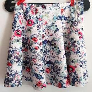 Floral Skirt Rok Bunga