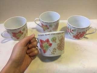 花茶杯 porcelain cup set
