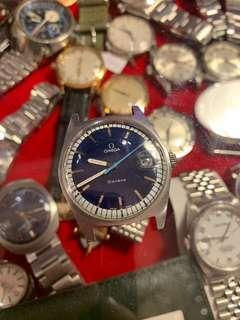 Omega 上鏈古董錶