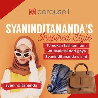 Syanindita's Inspired Style