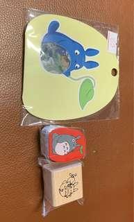 🚚 Totoro Stamp n stickers