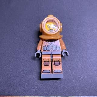 Lego Collectible Minifigures S8 8833 6號 Diver 潛水員
