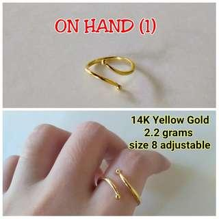 ON HAND ADJUSTABLE RING