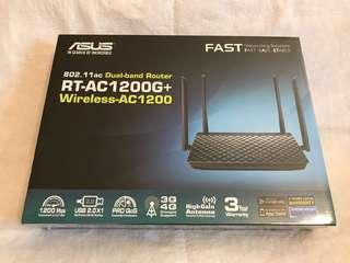 🚚 Asus Router ASUS RT-AC1200G+