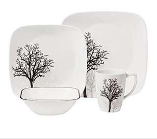 Corelle Square Timber Shadow