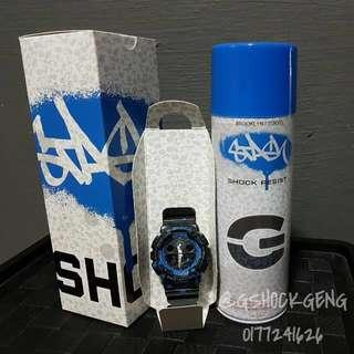 G-SHOCK GA-100ST-2A / GA-100 X STASH GRAFFITI COLLAB ORI