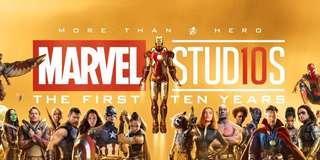 Marvel 絕版10週年限量海報 全新 100%無接痕爛角