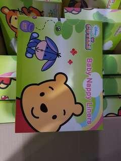 Cuties Baby Nappy Liner