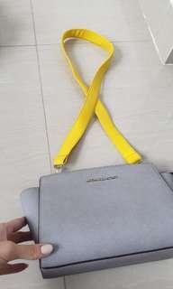 Yellow bag strap