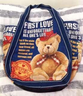 🚚 Teddy bear 托特包布包