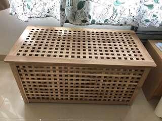 Ikea 木製大容量貯物箱