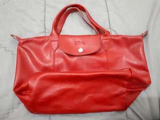Hand bag long camp - Red