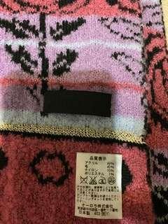🚚 安娜蘇圍巾