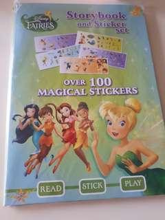 🚚 Disney storybook and sticker sets